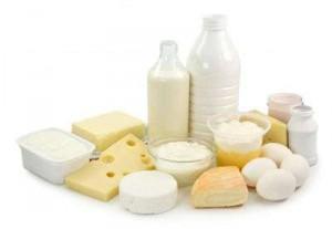 leche y yogurt