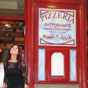 Pizzería Madrid Emma y Julia Ristorante cumple 19 años